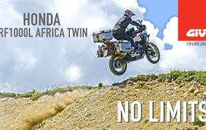 Embedded thumbnail for Honda AFRICA TWIN. Sin límites con GIVI