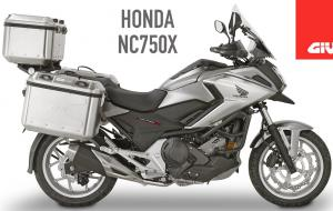 Embedded thumbnail for HONDA NC750X by GIVI