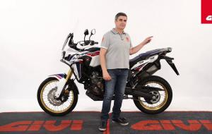 Embedded thumbnail for Honda CRF1000L Africa Twin by GIVI